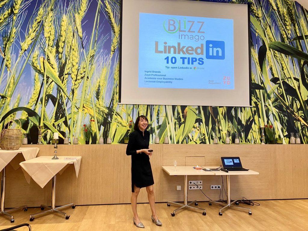 Ingrid Brands Linkedin expert hogeschool zuyd gemeente Nuth Heerlen Brightlands Rabobank