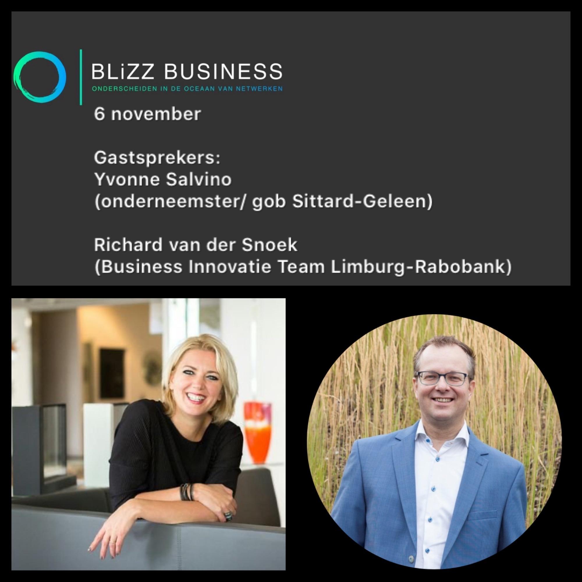 Yvonne Salvino glashandel onderneemster ondernemer politiek Sittard Geleen Richard van der Snoek Business innovatie team limburg rabobank gastsprekers ontbijt netwerken